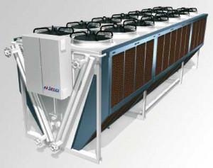Refroidisseur adiabatique et haute efficacité énergétique