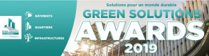 Green Solutions Awards 2019 : lancement de la 7e édition