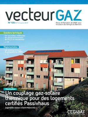 Vecteur Gaz : nouveau numéro de la revue de Cegibat GRDF