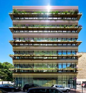 Immeuble de bureaux Les Horizons, lumière et performance environnementale