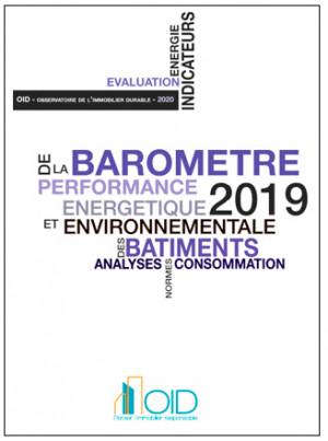 Baromètre 2019 de la performance énergétique et environnementale des bâtiments