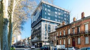 Rénovation de bureaux en 153 logements étudiants avec démarche de recyclage et de réutilisation