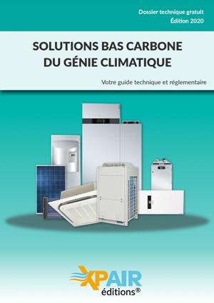 Nouvel ebook disponible : « Solutions bas carbone du génie climatique »