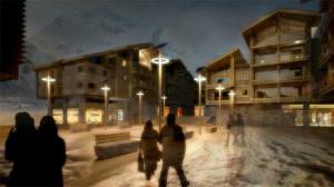 L'écovillage des Boisses à Tignes : géothermie à 1800 m