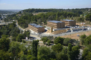 Parc primé de bureaux tertiaire 100% bois à énergie positive