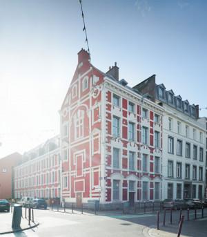 Logements sociaux BBC Rénovation dans un bâtiment historique