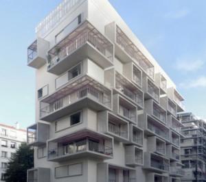Immeubles ICF Sablière niveau Passif Paris 17ème