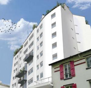 Rénovation «Bâtiment Basse Consommation» copropriété Lançon-Rungis