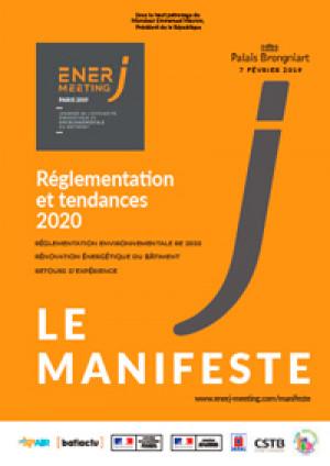 Réglementation et tendances bâtiment 2020, le nouveau Manifeste EnerJ-meeting 2019