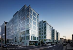 Immeuble de bureaux ZENORA labels BBC et HQE