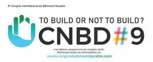 9ème Congrès interNational du Bâtiment Durable du 6 au 8 octobre 2021