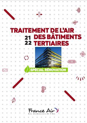 France Air édite un catalogue dédié à la rénovation des bâtiments tertiaires