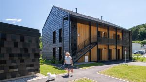 Logements sociaux bois-paille-passifs à Plainfaing dans les Vosges