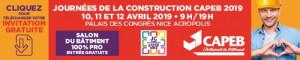 Les Journées de la Construction 2019 à Nice !