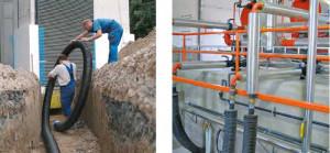 Canalisations pré-isolées enterrées pour le transport de fluides