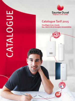 Le catalogue tarif 2015 Saunier Duval est disponible !