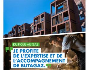 Du fioul au gaz propane, Butagaz vous accompagne  2021