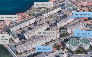 Rénovation énergétique de 270 logements des années 60 à Marseille