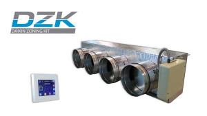Airzone fabrique le système DZK pour Daikin North America
