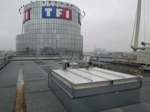 Réhabilitation sur la tour TF1 afin d'augmenter l'efficacité énergétique