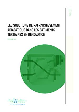 Guide des solutions de rafraîchissement adiabatique pour le tertiaire en rénovation