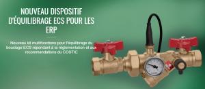Bouclage ECS : réglementation sanitaire et règles de conception