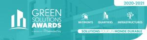 Green Solutions Awards 2020-21 : les lauréats français révélés
