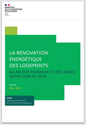 Rénovation énergétique des logements en France, étude de l'ONRE et statistiques