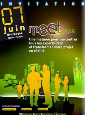Salon Meet BATIC le 7 Juin en Bourgogne – Invitation gratuite