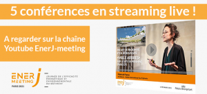 Streaming Live sur EnerJ-meeting Paris ce 7 septembre