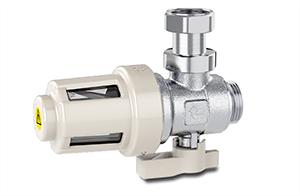 Filtre-décanteur magnétique pour chaudière murale : Caleffi XS® 2021