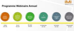 "Programme ""Webinaire 2020"" proposé par IMI Hydronic (Pneumatex, TA, Heimeier)"