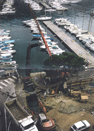 Conception d'une installation pompe à chaleur eau de mer