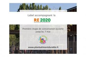 Le label RE2020, le première étape de concertation