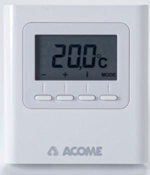Plancher chauffant très basse température avec régulation certifiée  EUBAC