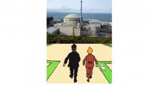 Tintin à Flamanville