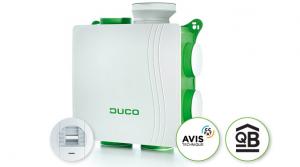 La VMC simple flux hygroréglable silencieuse et basse consommation : DucoBox Hygro 2021