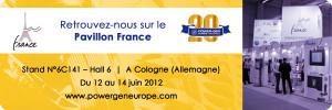 Du 12 au 14 Juin 2012 : Fläkt Solyvent Ventec à Cologne
