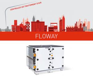 Une centrale de traitement d'air pour une meilleure QAI : Floway RHE Z 2021