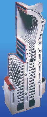 corps de Chauffe en Aluminium Silicium