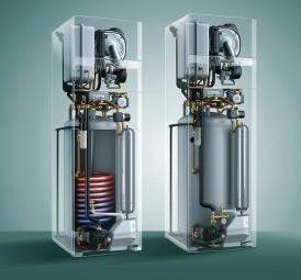 Ecorché colonne gaz condensation et solaire auroCOMPACT