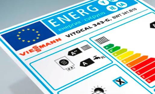 Etiquette énergétique Vitocal