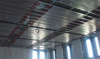 mise en oeuvre plafond