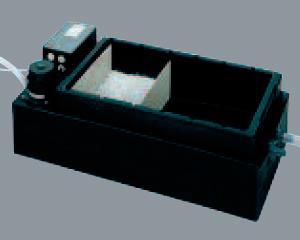 Equipement de neutralisation des condensats des chaudières gaz par granulé avec pompe élévatrice