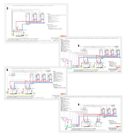schémas hydrauliques