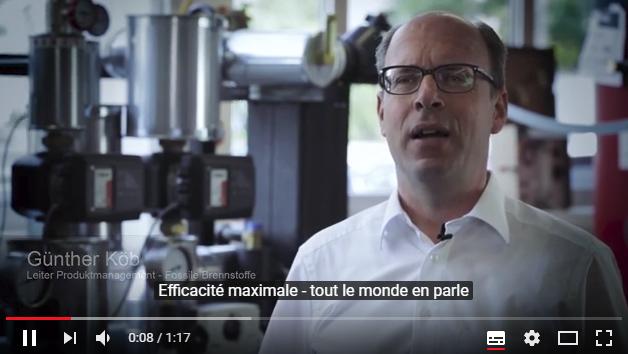 Vidéo efficacité des chaudières condensation au gaz