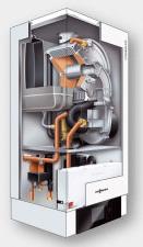 Solution de chauffage et d'ECS par chaudière à condensation & vecteur air