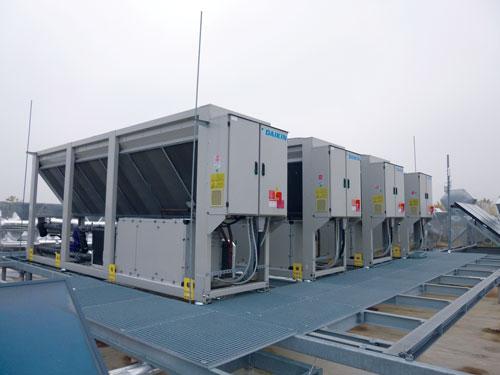 Groupes de climatisation à eau glacée