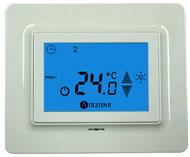 écran thermostat