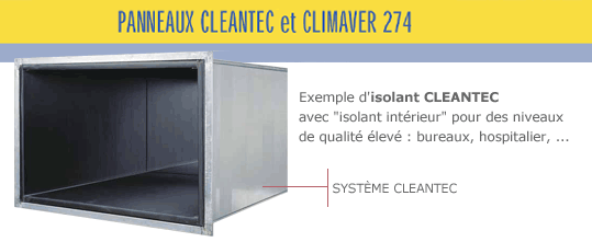 Isolant Cleantec d'ISOVER